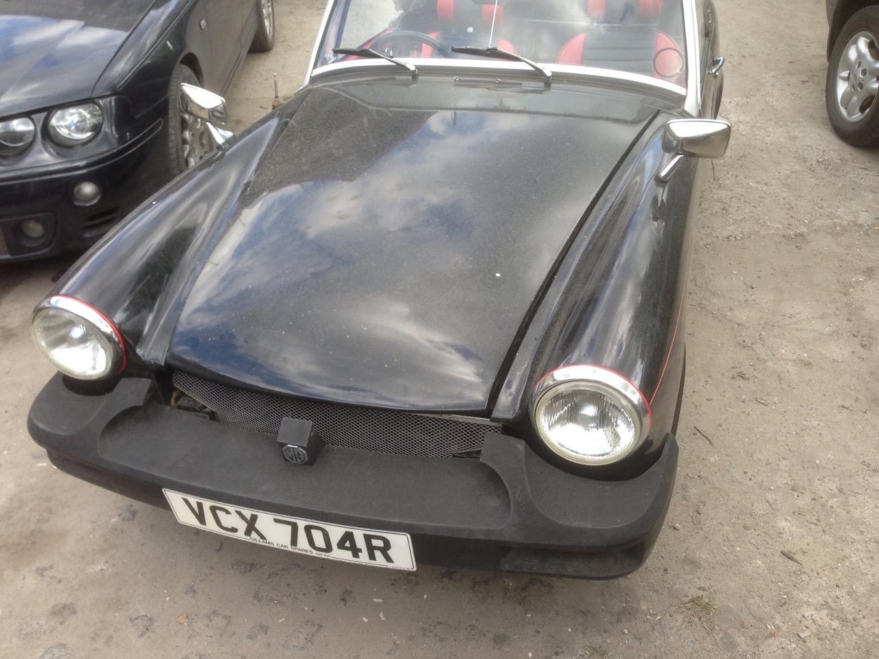 MG MGB Roadster – Classic Cars garage