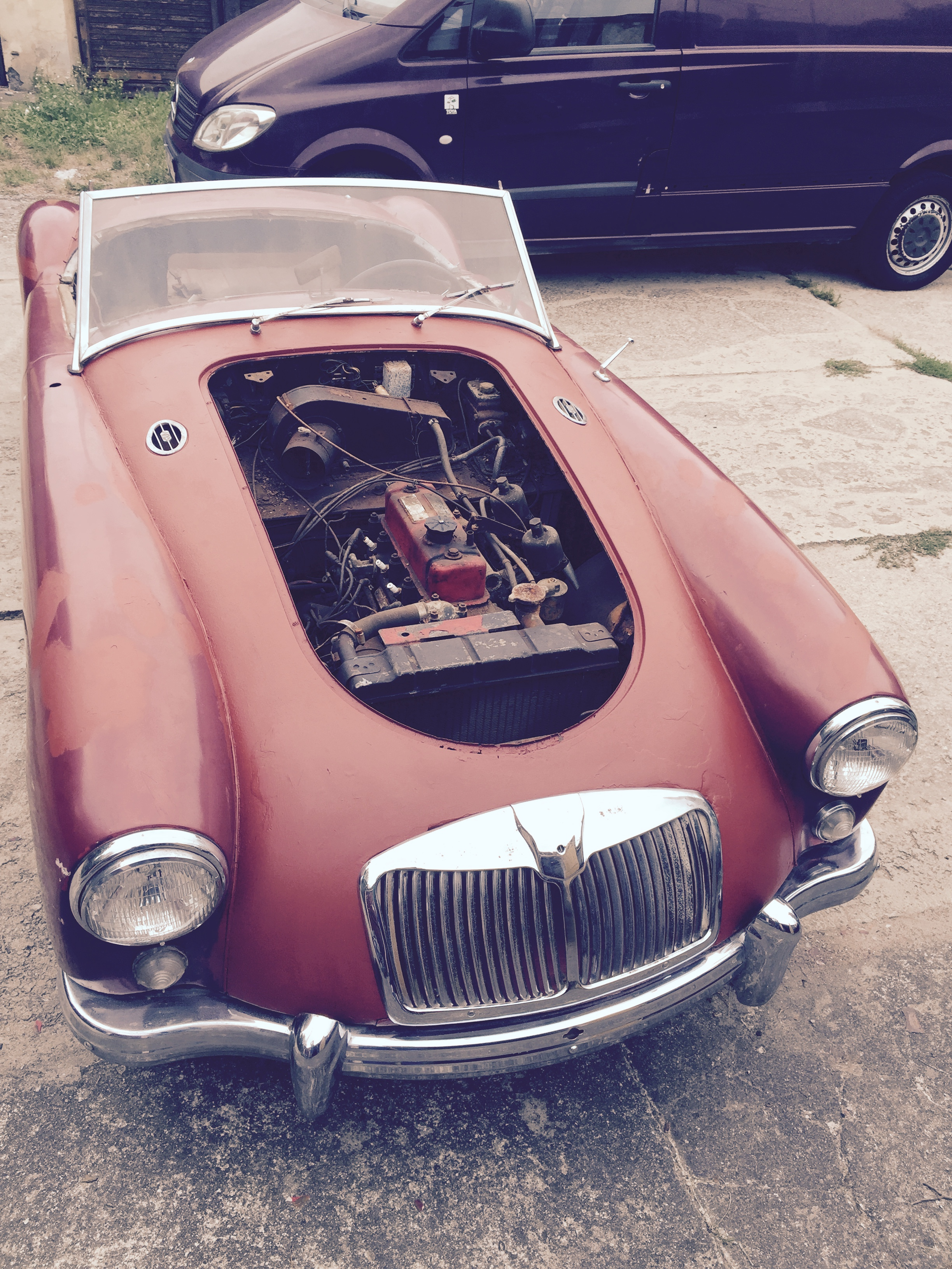MG MGA Roadster – Classic Cars garage